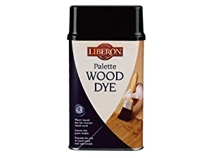 Liberon WDPE250 250ml Palette Wood Dye - Ebony