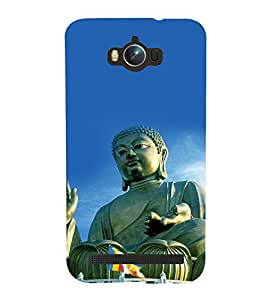 printtech Lord Buddha Back Case Cover for Asus Zenfone Max ZC550KL