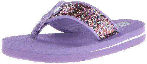 Teva Mush Ii Sparkle C Flip Flop (Toddler/Little Kid),Purple,8 M Us Toddler