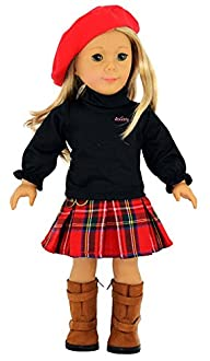 Ebuddy 3pc Skirt School Outfit Clothe…