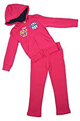 Girls Official Paw Patrol Puppy Dog Skye Hooded Jog Suit Tracksuit sizes from 3 to 6 Years