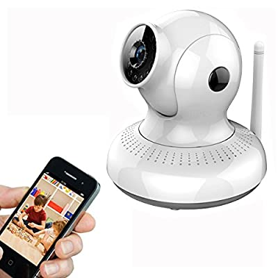 GOLDWHEAT(TM) Security Camera Baby Monitor,Pets Monitor,Home Security, P2P IPCamera Support Gmail/Hotmail function with High Quality NEW