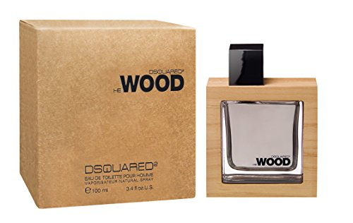 Dsquared2 Wood, Eau de Toilette da uomo, 100 ml