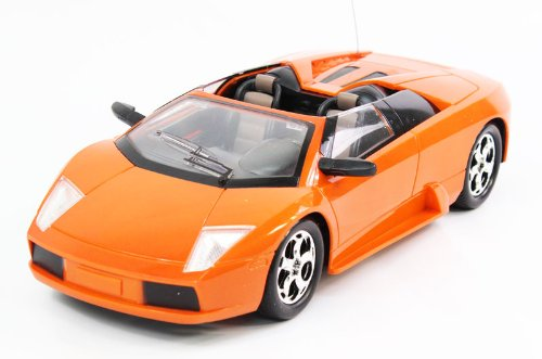 1:14 Scale Full Function RC Lamborghini Murcielago Roadster RTR RC Car w/ rechargeable Batteries and extreme detail (Colors may Vary)