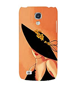 80's Fashion Girl 3D Hard Polycarbonate Designer Back Case Cover for Samsung Galaxy S4