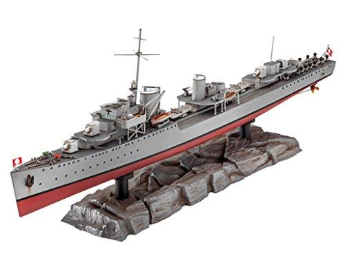 Revell-05141-German-Destroyer-Type-1936-im-Mastab-1350