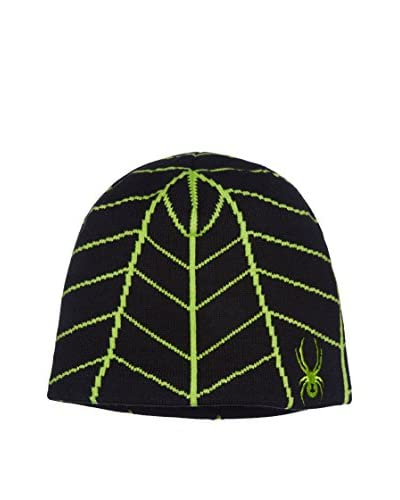 SPYDER Cappellino Boy'S Web Hat [Nero]