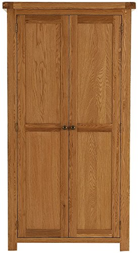 Oakhampton Chunky Oak 2 Door Wardrobe
