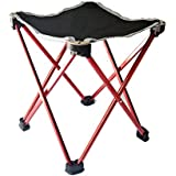 E-More® High Value Folding Anti-slip Large Size Multifunctional Stool Seat Chair Fishing Chair Ultralight Outdoor/Picnic/Fishing Backpack Beach Travel Sports Ground Chair