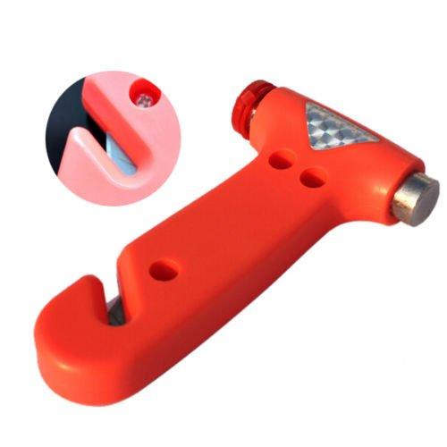 Xidaje Auto Motor Car Emergency Lifesaving Break Window Glass Hammer Cutter Kit New front-454337