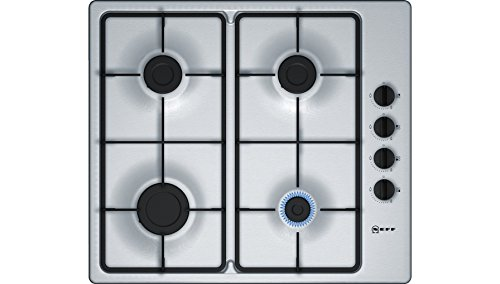 Neff Gas Hob - Integrated - T26BR46N0 - Stainless Steel