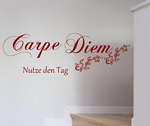 wandtattoo-carpe-diem-spruch-wanddekoration-wohnzimmer-flur-farbe-grossenauswahl-art23095