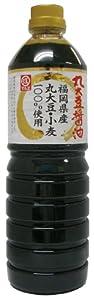 マルヱ醤油 福岡県産丸大豆醤油 1L
