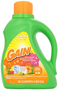 with FreshLock Hawaiian Aloha Liquid Detergent 72 Loads 150 Fl Oz(Pack of 4)