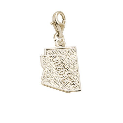 Rembrandt Charms Grand Canyon Charm With Lobster Clasp, 10K Yellow Gold