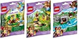 LEGO, Friends, Animal Set Series 5 Bundle set of 3 (41044, 41045, and 41046)