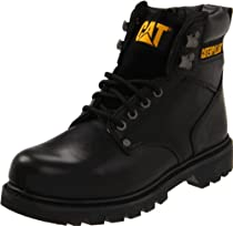 "Hot Sale Caterpillar Men's 2nd Shift 6"" Plain Soft Toe Boot,Black,10.5 M US"