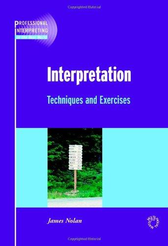 Interpretation (Professional Interpreting in the Real World)
