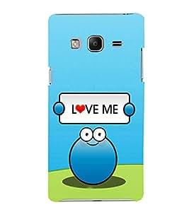 EPICCASE Love Me Mobile Back Case Cover For Samsung Tizen Z3 (Designer Case)