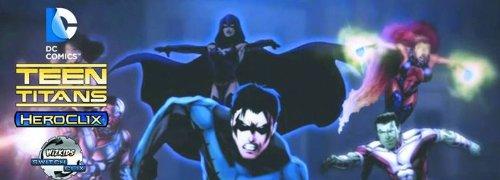 1 X HeroClix - Teen Titans - Booster Pack - 1