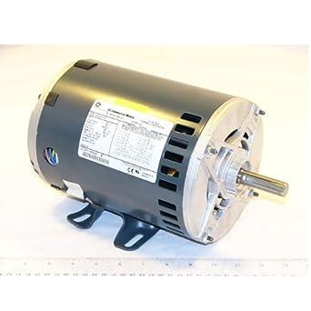 Oem Upgraded Genteq 208 460v 3 Phase Furnace Blower Motor