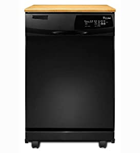 Whirlpool DP1040XTXB Full Console Dishwasher - Black