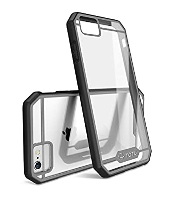 iPhone 6 Plus Case'TOTU®?Scratch Resistant? Slim Clear Back Panel ?Guardian Series?Shock-Dispersion Technology Transparent Hybrid Bumper Cover Fit For iPhone6 5.5 ??Retail Packaging ?'?Lifetime Warranty? by TOTU