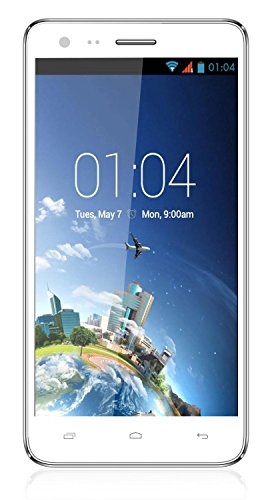 Kazam 5 Mpx 1..2Ghz Quad core Processor Android Phone White Colour