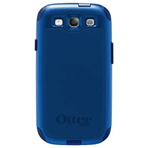 OtterBox Commuter Series Case for Samsung Galaxy S III - Retail Packaging - Blue