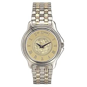 Penn State University - Mens Two Tone Stainless Steel Watch - Gold by Alumni Gift