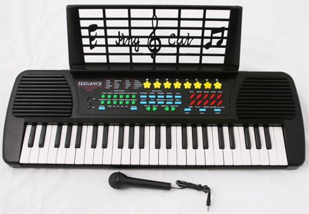 New Child's Keyboard Organ Piano 49 Keys w Mic