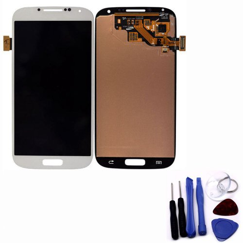 Highsound Electronic Lcd Screen Digitizer Touch Screen For Samsung Galaxy S4 I9500 White