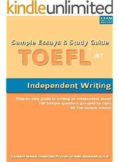 toefl writing sample
