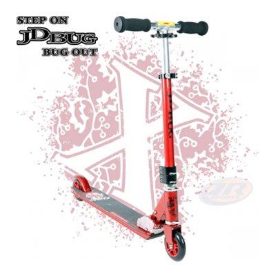 JD Bug Original Pro Street Scooter LE V10 Matt Red