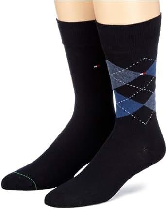 Tommy Hilfiger Herren Socke 2 er Pack 391156, Gr. 39-42 , Blau (563 midnight blue)