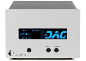 Pro-Ject DAC Box DS (24/192kHz) HD silber