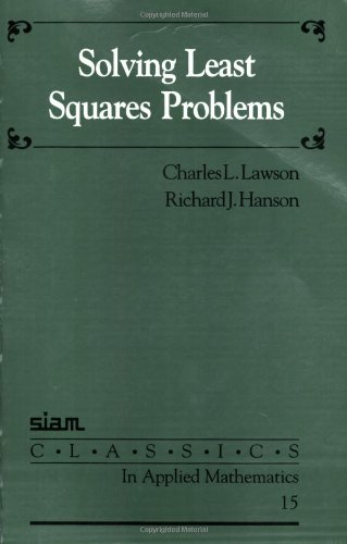 Solving Least Squares Problems