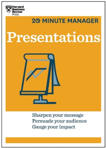 Harvard Business Review - Presentations (20-Minute Manager Series)