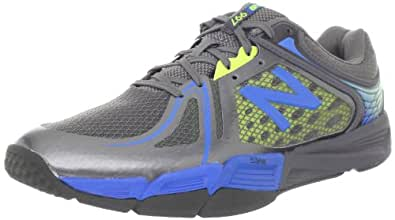 New Balance Men's MX997v2 Cross-Training Shoe,Grey/Yellow/Blue,9.5 D US