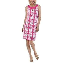 Product Image Merona® Collection Women's Evelyn Printed Dress - Pink/White