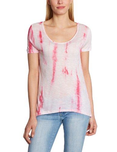 VERO MODA - Maglietta, Manica corta, Donna, Multicolore (Multicolore (Pink Lemonade / Wash:Tie Dye)), M