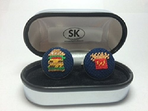 mcdonalds-inspired-needlepoint-cufflinks-in-silver-plated-or-sterling-silver-finish-french-fries-cuf