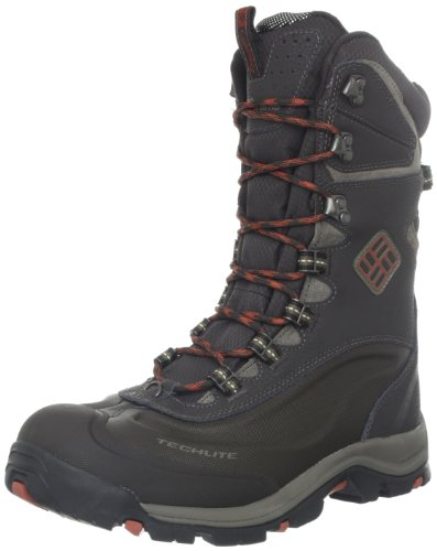 Columbia Men's Bugaboot Plus II XTM Omni-heat Cold Weather Boot,Stout/Cedar,17 M US