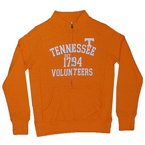 Boys NCAA Tennessee Volunteers Athletic Zip-Up Thermal Jacket M Orange