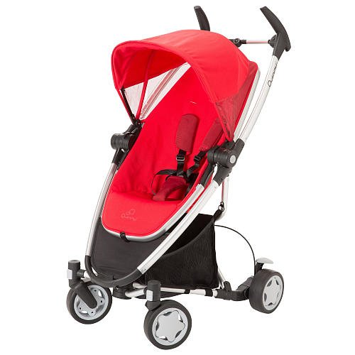 Quinny Zapp Xtra Stoller Rebel Red front-808385