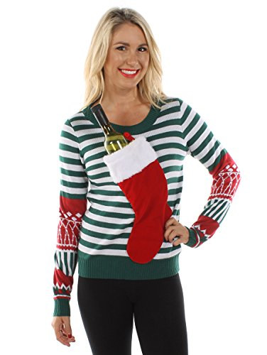 Womens-Christmas-Stocking-Tacky-Sweater