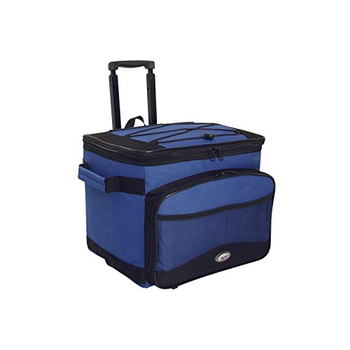 Cool Carry Single Rolling Cooler - Blue