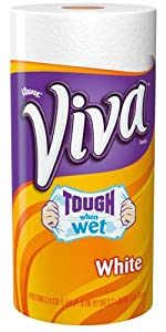 Viva Paper Towels, White, Big Roll (24 Rolls)