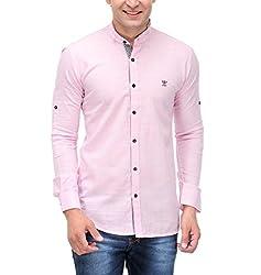 Fender Zone Men's Casual Shirt - 21142_Pink_42