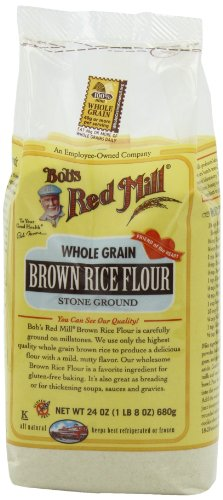 Bob's Red Mill Rice Flour Brown, 24-Ounce (Pack of 4)